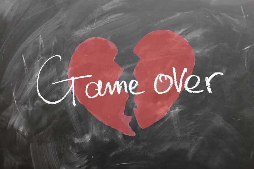 Game over. Again